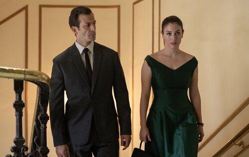 Iván Marcos y Blanca Suárez en 'Jaguar'