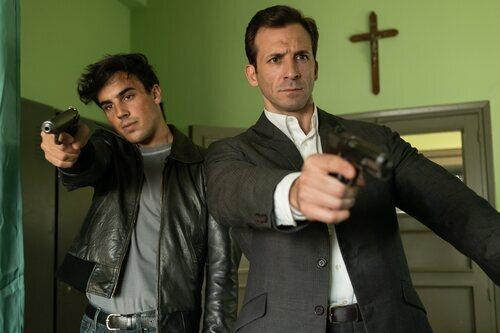 Óscar Casas e Iván Marcos en 'Jaguar'