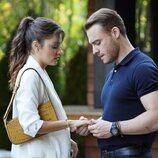 La pareja formada por Hande Erçel y Kerem Bürsin en 'Love is in the air'