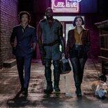 John Cho, Mustafa Shakir y Daniella Pineda en 'Cowboy Bepop'