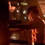 John Cho entrena en 'Cowboy Bepop'