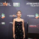 La actriz Amaia Aberasturi en la presentación de 'La edad de la ira'