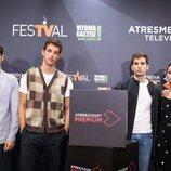 El cast de 'La edad de la ira' en el FesTVal