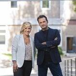 Cristina Pardo e Iñaki López, presentadores de 'Más vale tarde'