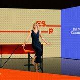 La periodista Susanna Griso, en el nuevo plató de 'Espejo Público'