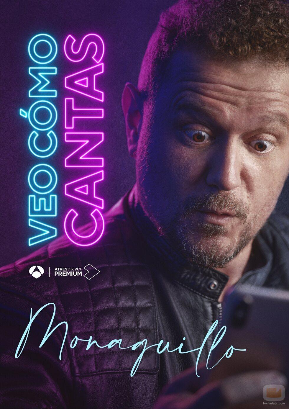El Monaguillo en el cartel promocional de 'Veo cómo cantas'