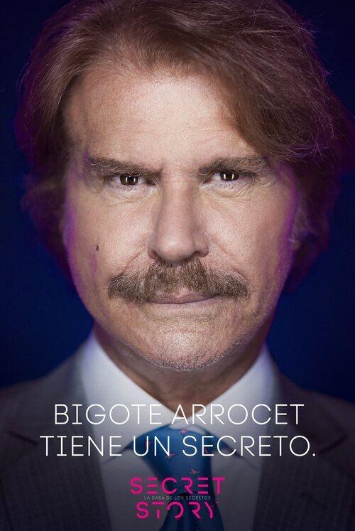 Bigote Arrocet, concursante de la primera edición de 'Secret Story'