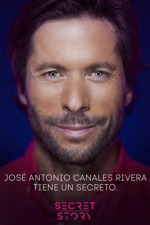 José Antonio Canales Rivera, concursante de la primera edición de 'Secret Story'