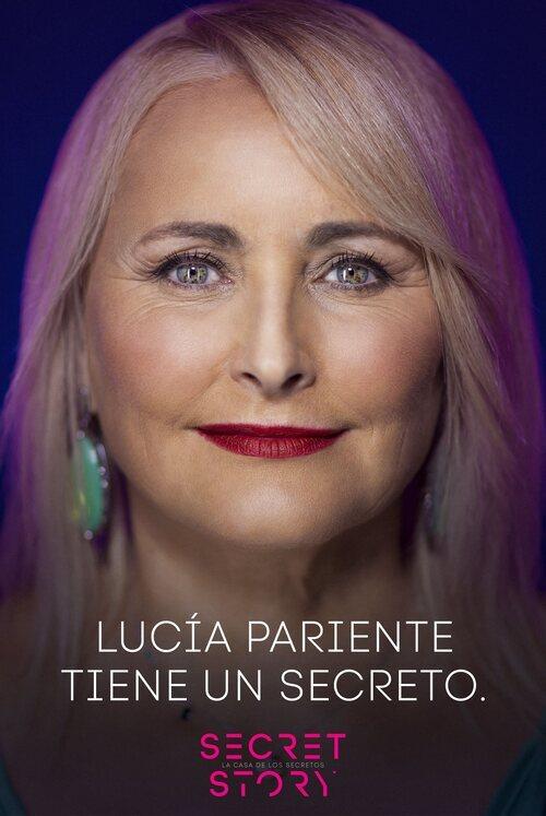 Lucía Pariente, concursante de la primera edición de 'Secret Story'