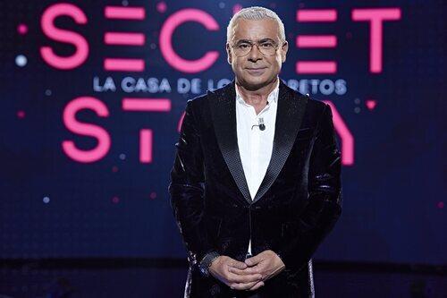 Jorge Javier Vázquez, presentador de 'Secret Story' durante la gala 1