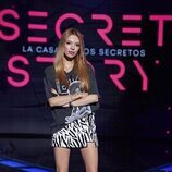 Alejandra Rubio, en el plató de la gala 1 de 'Secret Story'