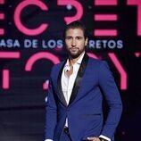 Gianmarco Onestini, durante la gala 1 de 'Secret Story'