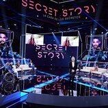 Jorge Javier Vázquez, en el plató de 'Secret Story' durante la gala 1