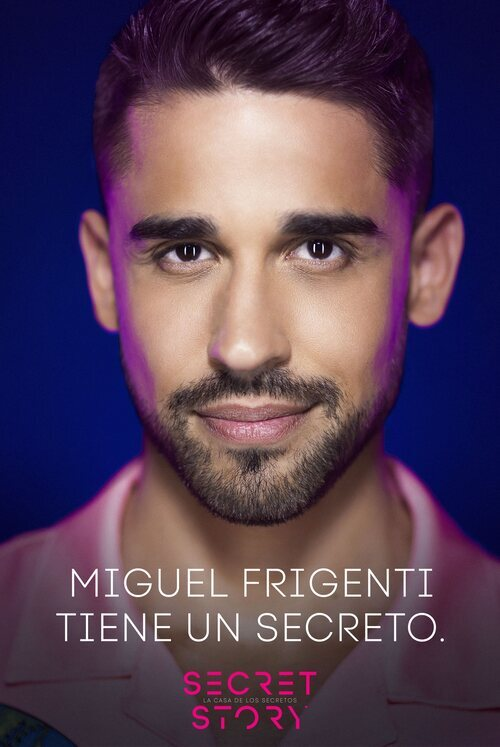 Miguel Frigenti, concursante de la primera edición de 'Secret Story'