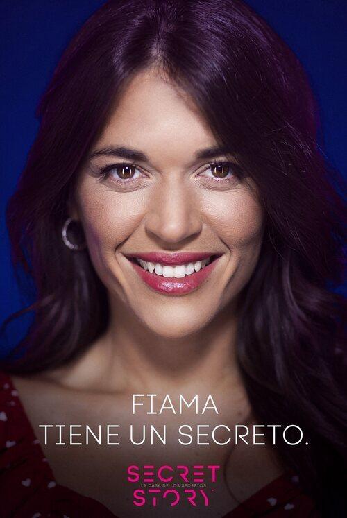 Fiama, concursante de la primera edición de'Secret Story'