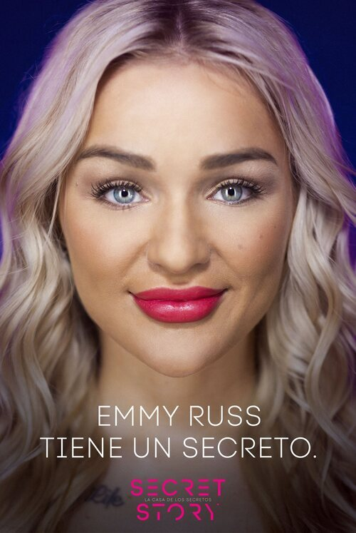 Emmy Russ, concursante de la primera edición de 'Secret Story'