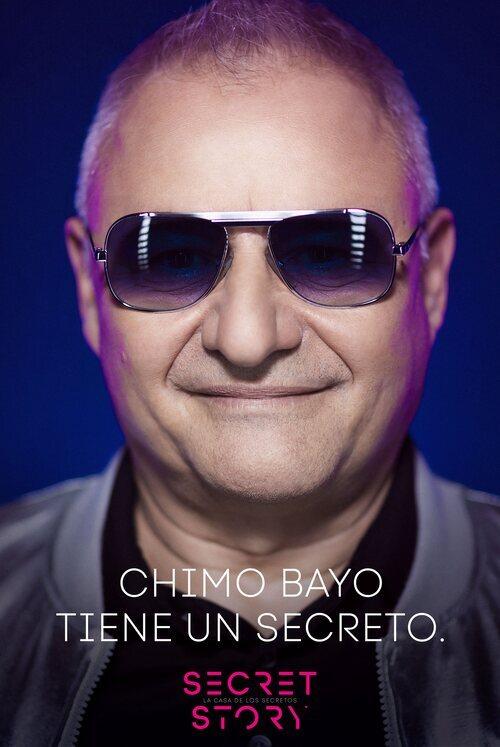 Chimo Bayo, concursante de la primera edición de 'Secret Story'