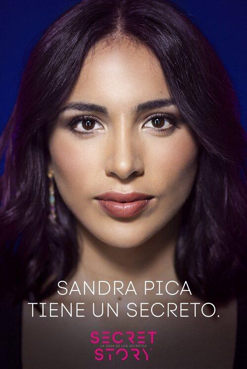 Sandra Pica, concursante de la primera edición de 'Secret Story'