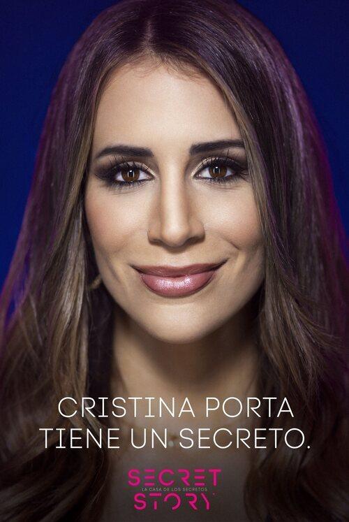 Cristina Porta, concursante de la primera edición de 'Secret Story'