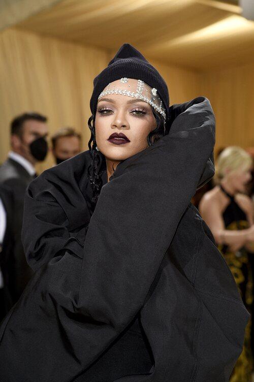 Rihanna, en la Gala MET 2021