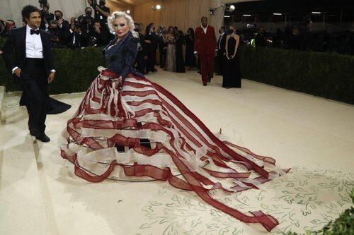 Debbie Harry, en la Gala Met 2021