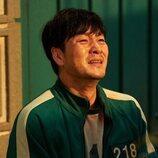 Park Hae-soo se lamenta en 'El juego del calamar'