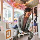 Lee Jung-jae grita en 'El juego del calamar'