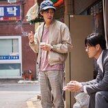 Lee Jung-jae y Park Hae-soo hablan en 'El juego del calamar'