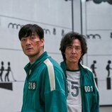 Park Hae-soo y Lee Jung-jae en 'El juego del calamar'