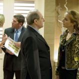 Marta Calvó y Emilio Gutiérrez Caba en 'Círculo rojo'