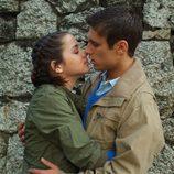 Beso de Carolina y Marcos en 'El internado'