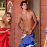 Gonzalo Kindelán con el torso desnudo