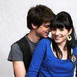 Óscar Sinela y Andrea Duro en una foto promocional de la tercera temporada de 'Física o Química'