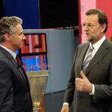 Mariano Rajoy en el plató de 'Tengo una pregunta para usted'