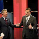 Mariano Rajoy y Lorenzo Milá en 'Tengo una pregunta para usted'