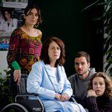 Anna Allen, Daniel Grao y Silvia Abascal en 'Acusados'