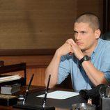 Michael Scofield, pensativo en 'Prison break'