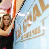 Cristina Lasvignes es la presentadora de 'Tal cual lo contamos'