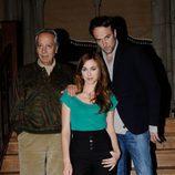 Pedro Civera, Marta Hazas y Carlos Leal