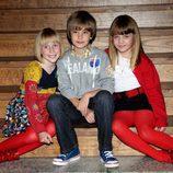 Los jóvenes actores del reparto de 'El Internado'