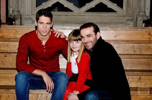 Martín Rivas, Carlota García y Luis Merlo