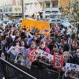 Los fans de 'Física o Química' se agolpan en Madrid