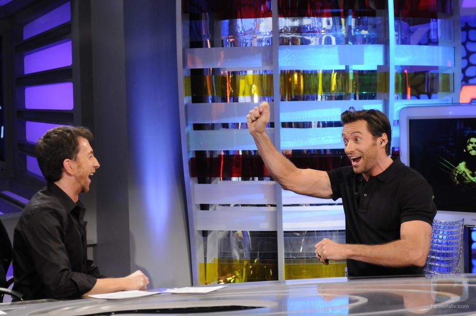 Pablo Motos entrevista a Hugh Jackman en 'El Hormiguero'