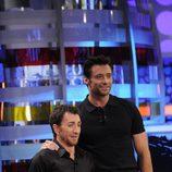Hugh Jackman y Pablo Motos en 'El Hormiguero'