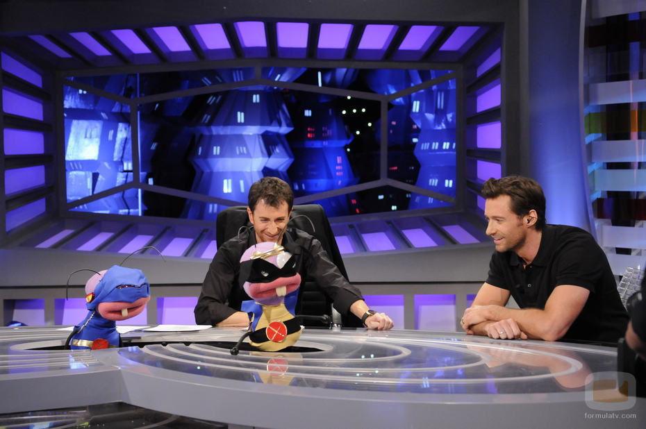 Hugh Jackman y Trancas y Barrancas en 'El Hormiguero'