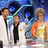Hugh Jackman con Flipy en 'El Hormiguero'