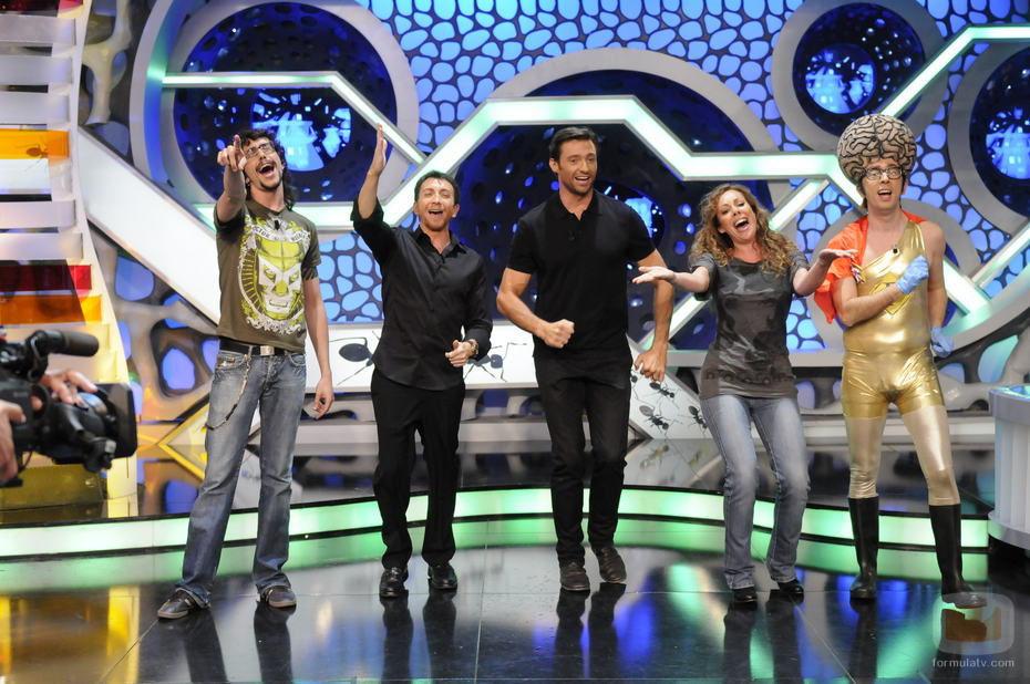 Hugh Jackman baila el 'Vete a dormir' en 'El Hormiguero'