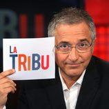 Javier Sardá en la presentación de 'La tribu'
