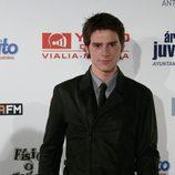 Óscar Sinela en la première de la tercera temporada