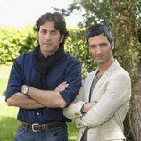 Antonio Garrido y Ernesto Alterio